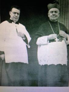 Father De Vivo with Cardinal Boyle